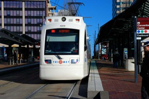 MAX Light Rail Car
