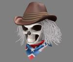 rebelcowboyskullheadtexuredt